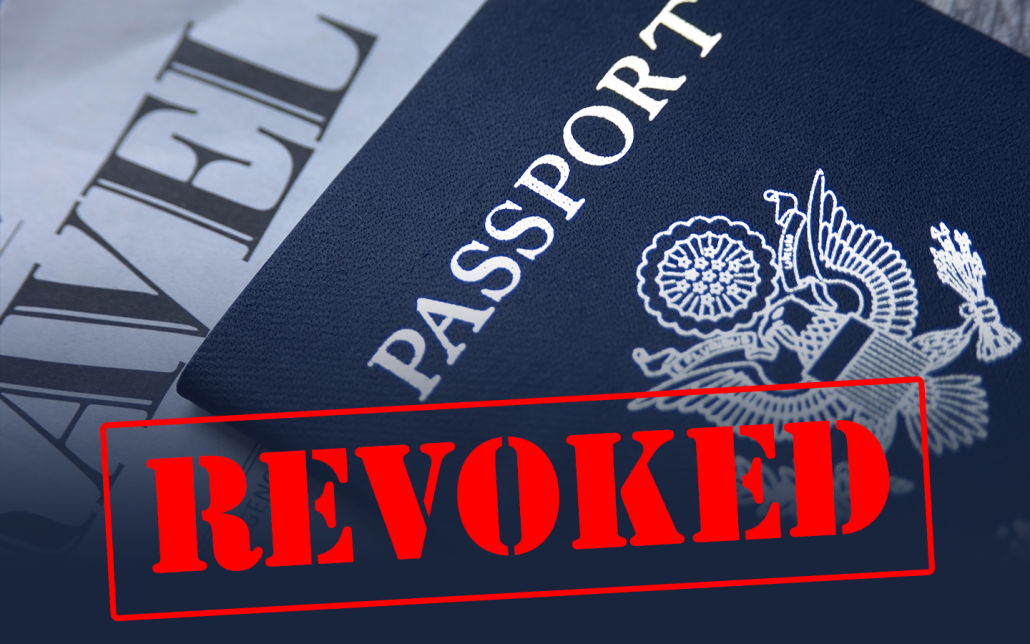 Passport revoked due to IRS tax debt